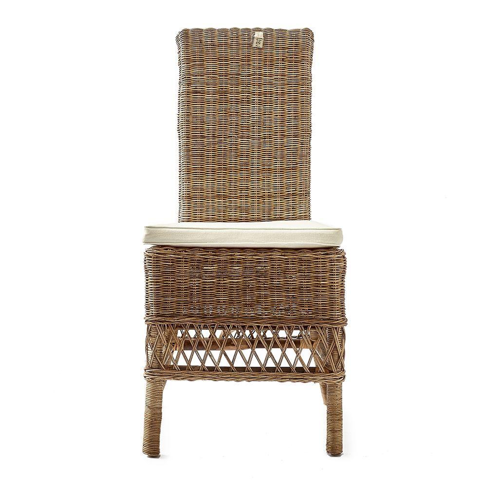 Jedálenská ratanová stolička St. Malo