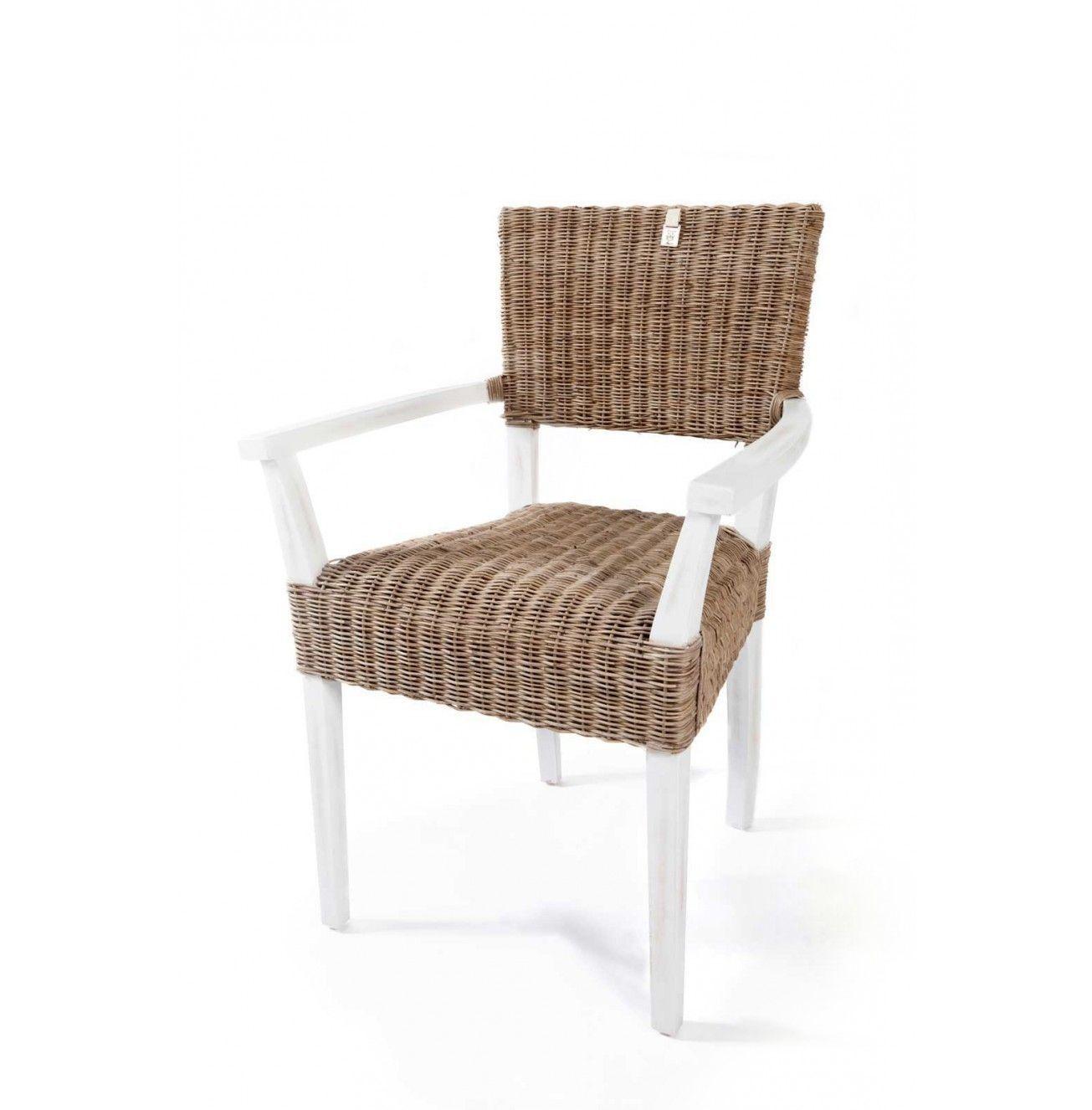 Ratanová jedálenská stolička Beecham