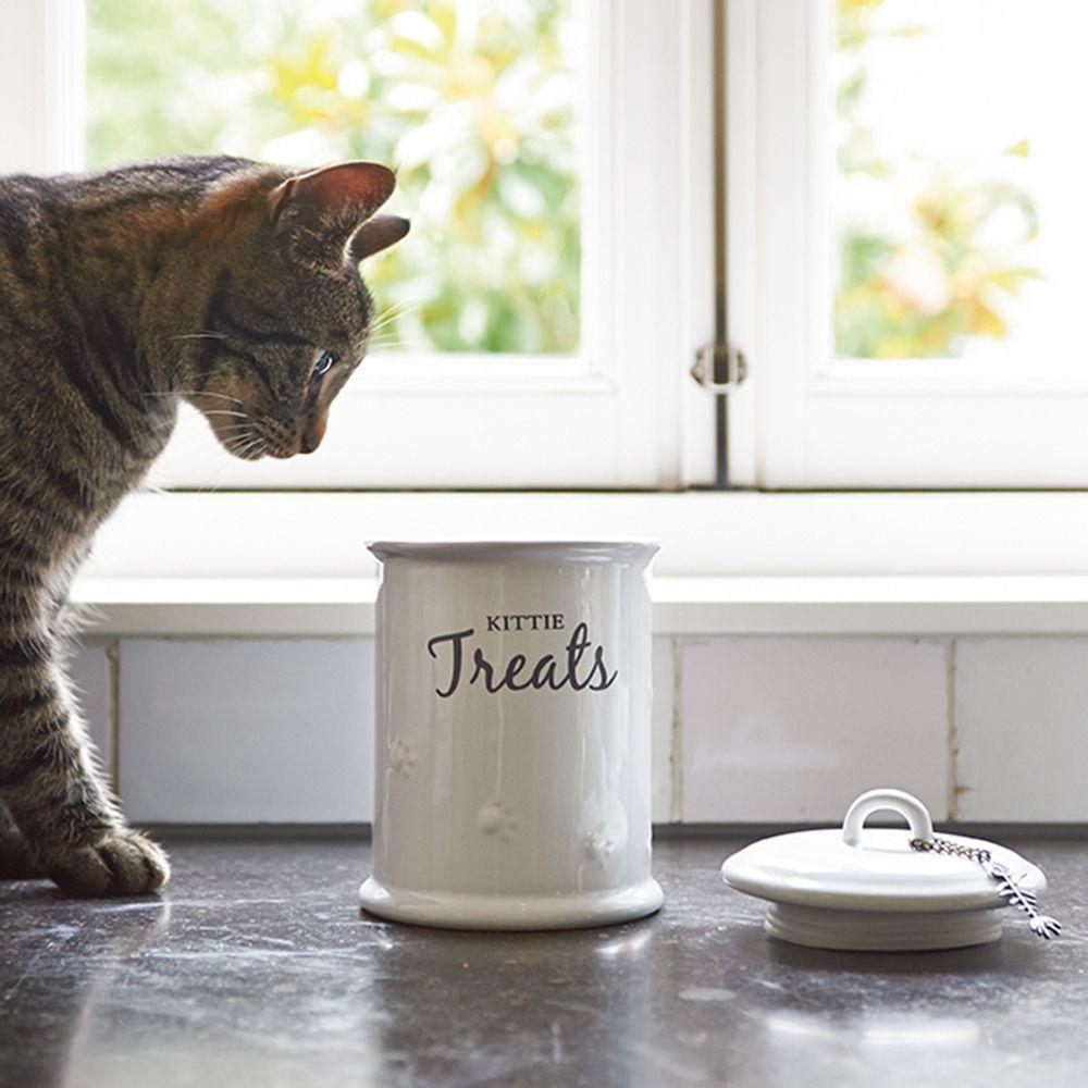 Dóza na pamlsky Kittie Treats Storage Jar