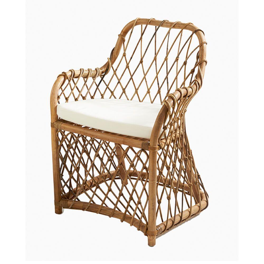 Jedálenská stolička Dune Deck Cafe, Ratan