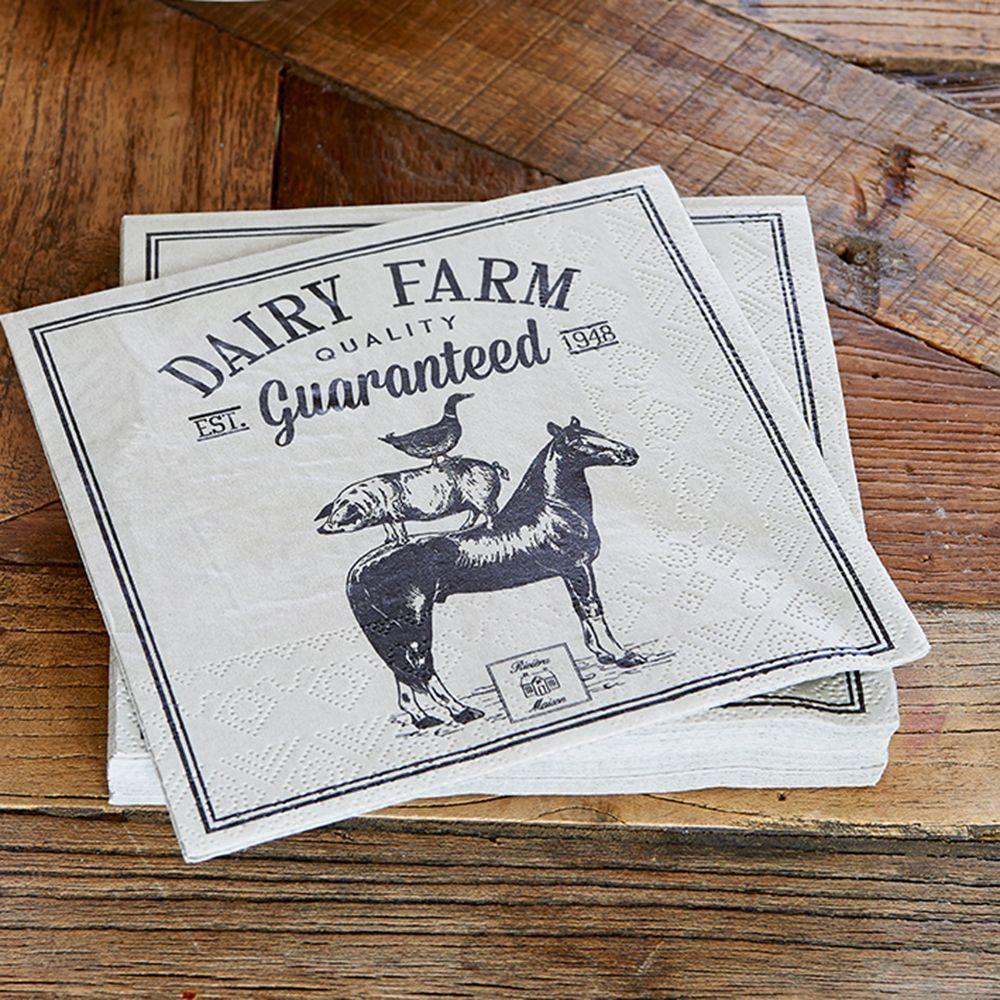 Servítky Dairy Farm