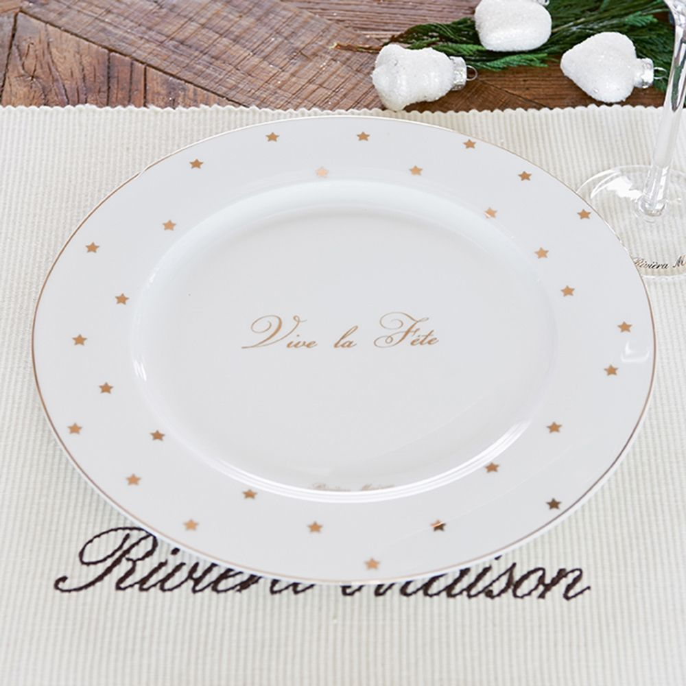 Tanier Vive la Fête Dinner Plate 27 cm
