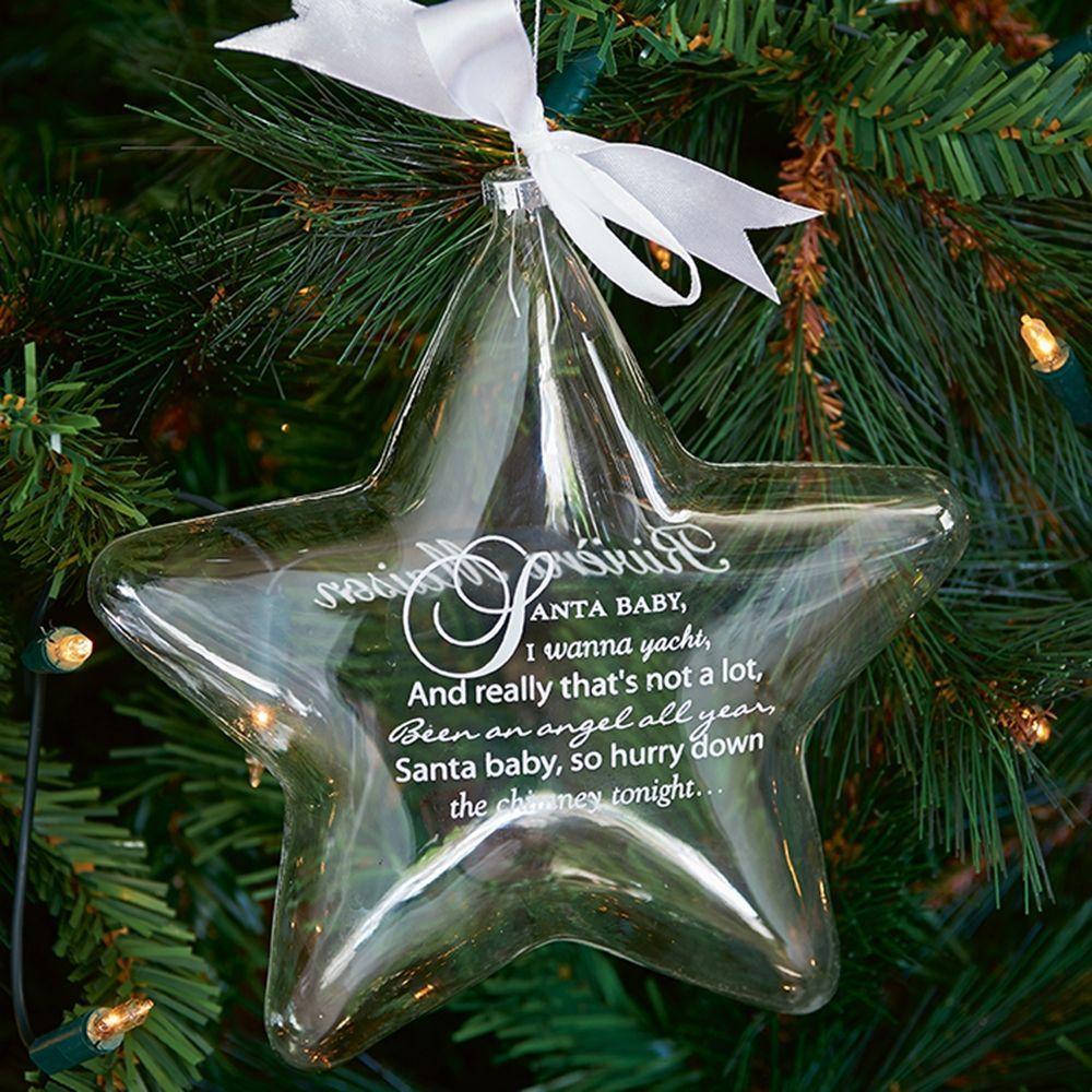 Vianočná ozdoba Santa Star L
