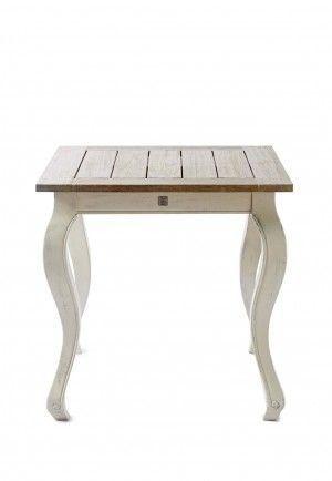 Venkovní driftwood jídelní stůl 80x80