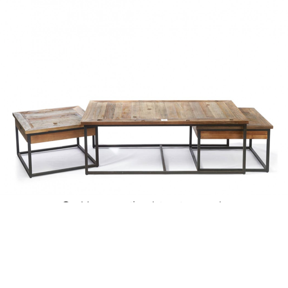 Shelter Island Coffee Table S/3