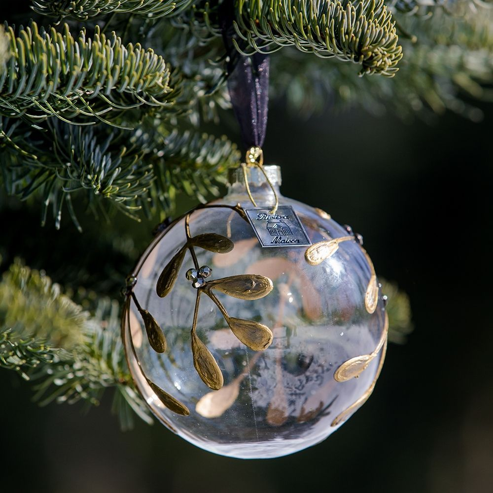 Vianočná ozdoba Magic Mistletoe Orn gold Dia 10