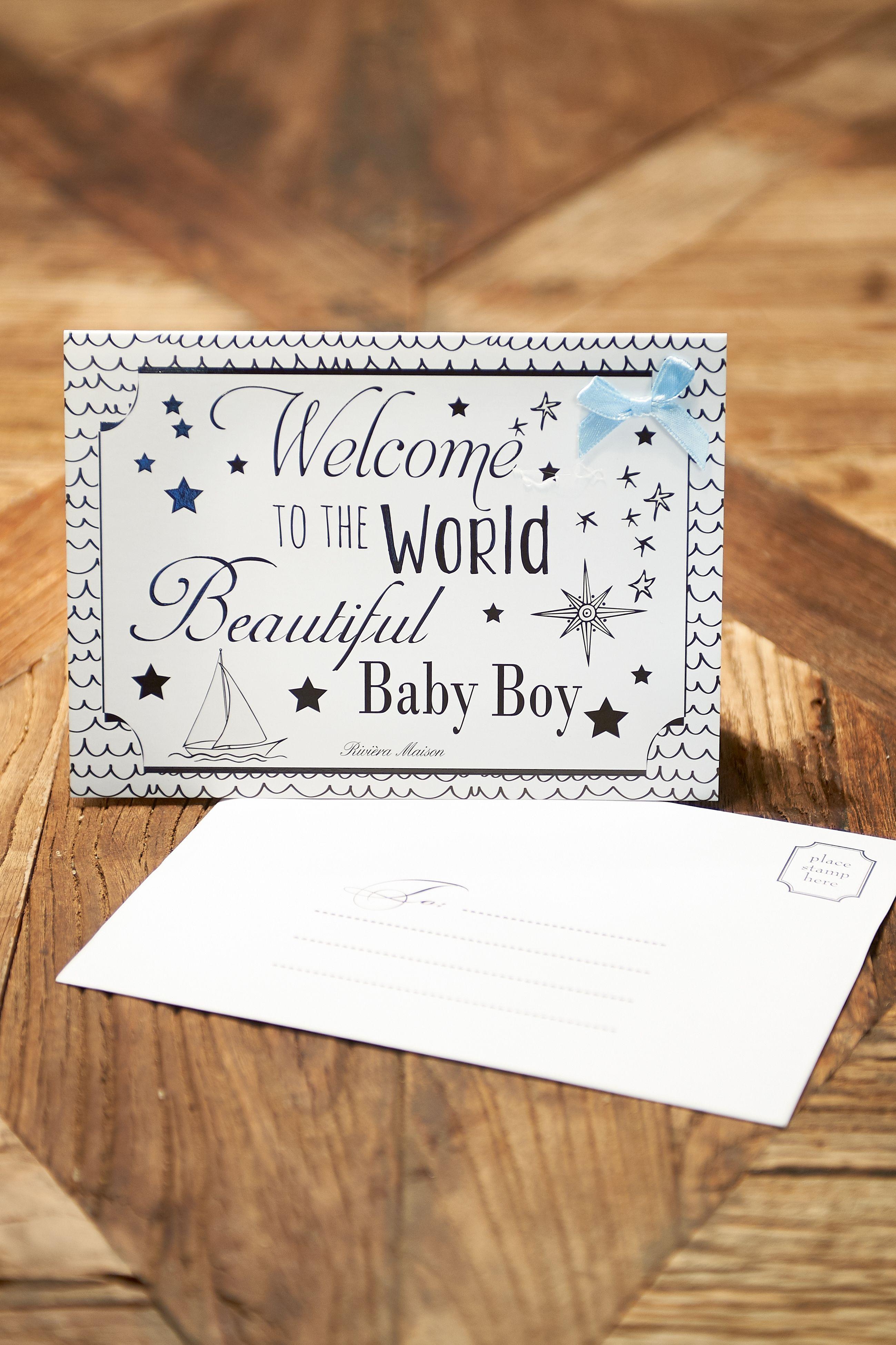Blahopřání Welcome Boy