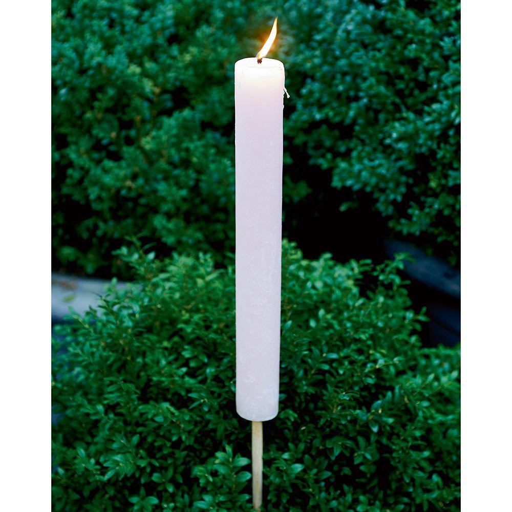 Svietnik Garden Torch pink L