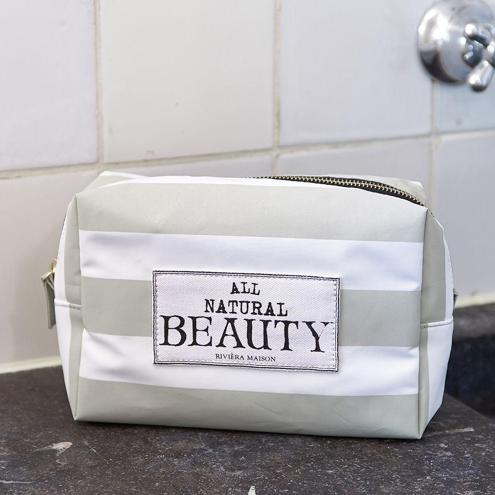 Toaletná taštička All Natural Beauty COSMO Bag flax
