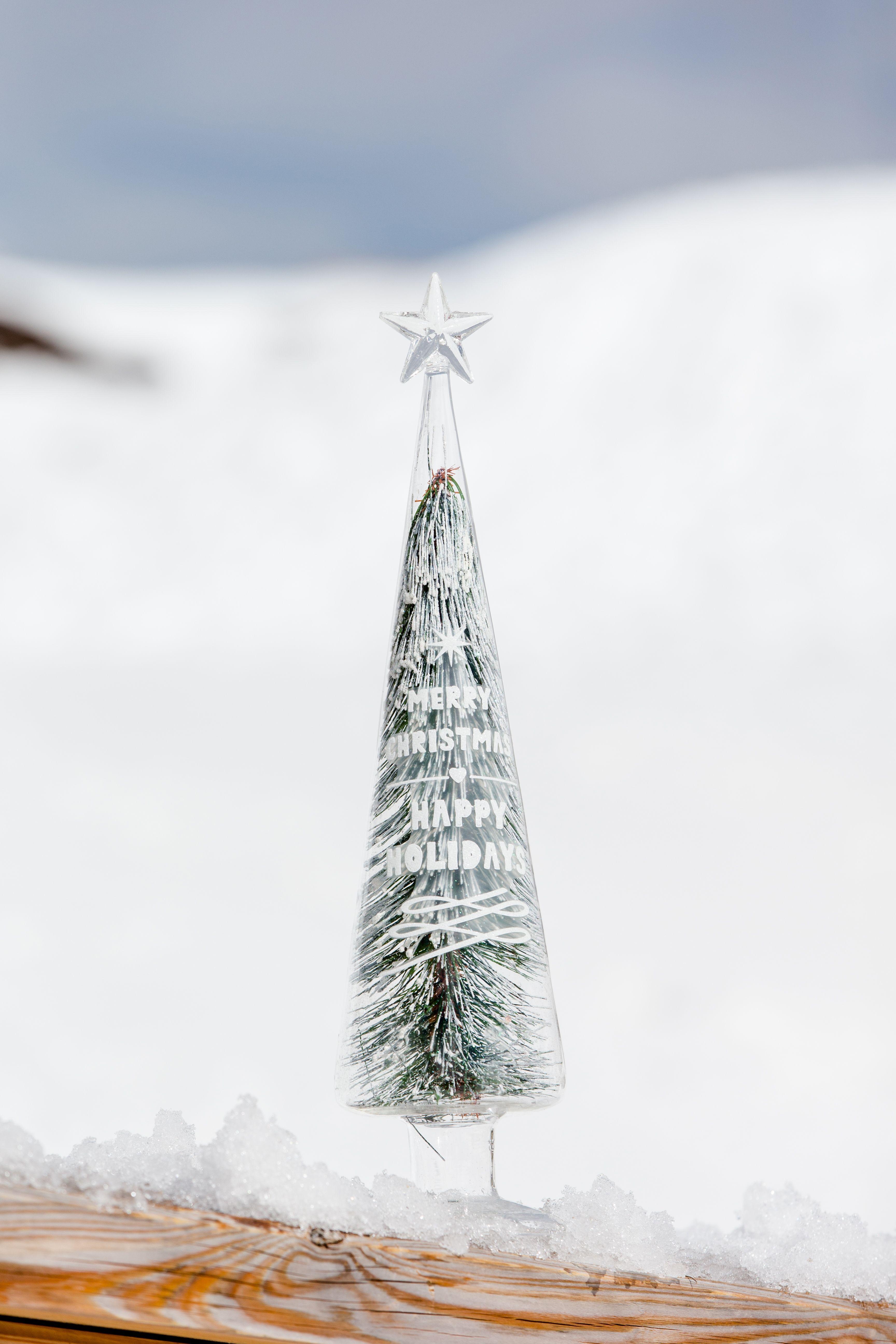 Vánoční dekorace Happy Holidays Christmas Tree