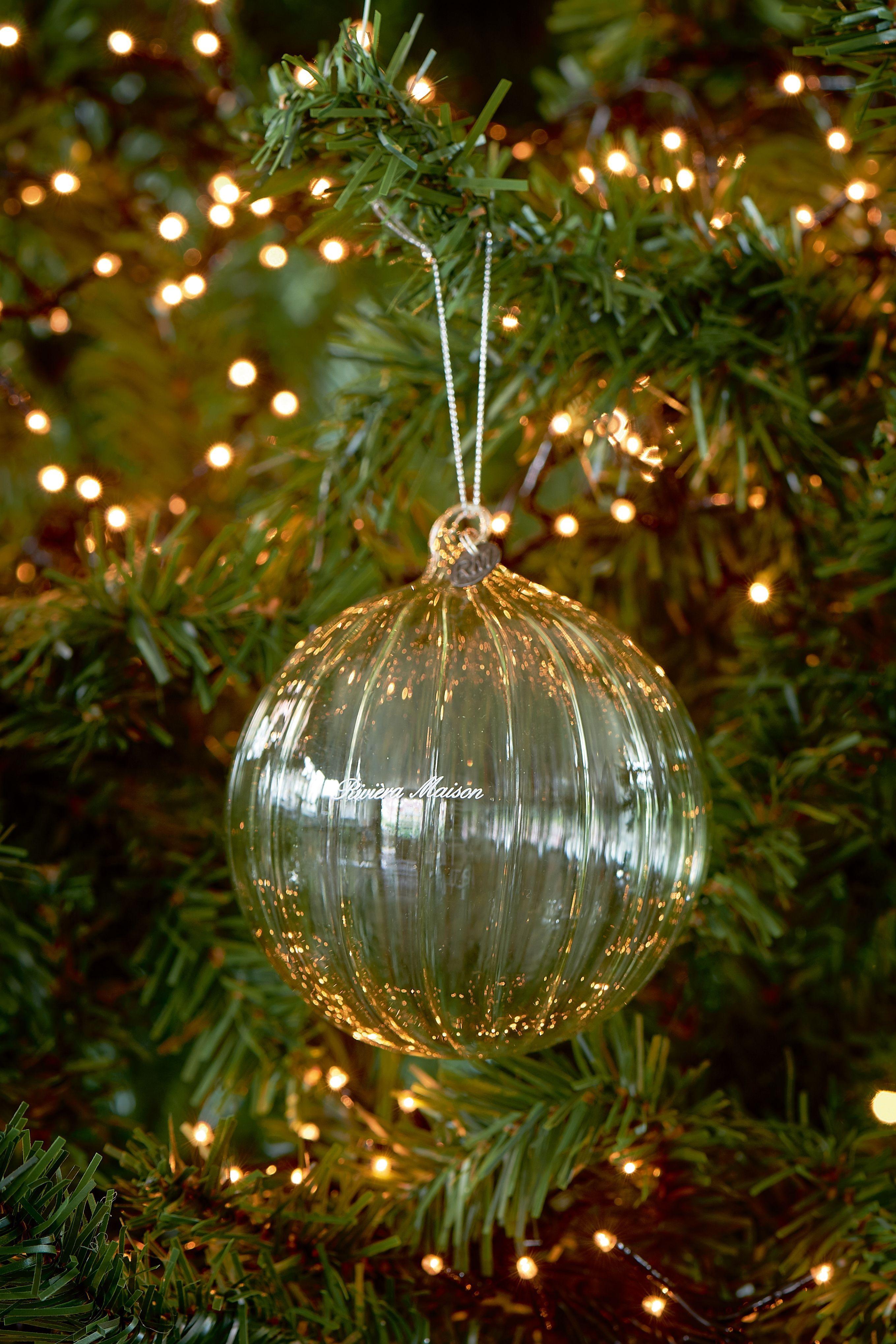 Sklenená vianočná ozdobaLecce Ornament Dia 10