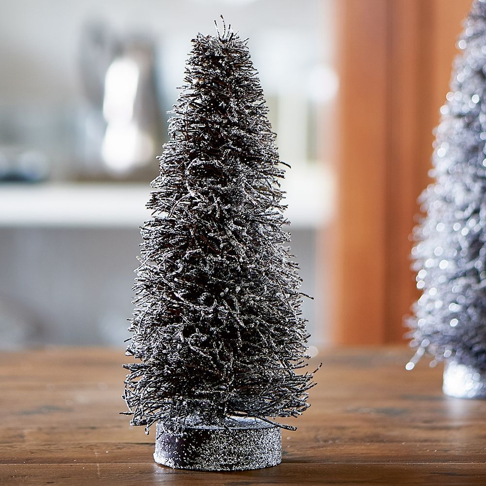 Dekorácia Whistler Christmas Tree silver S