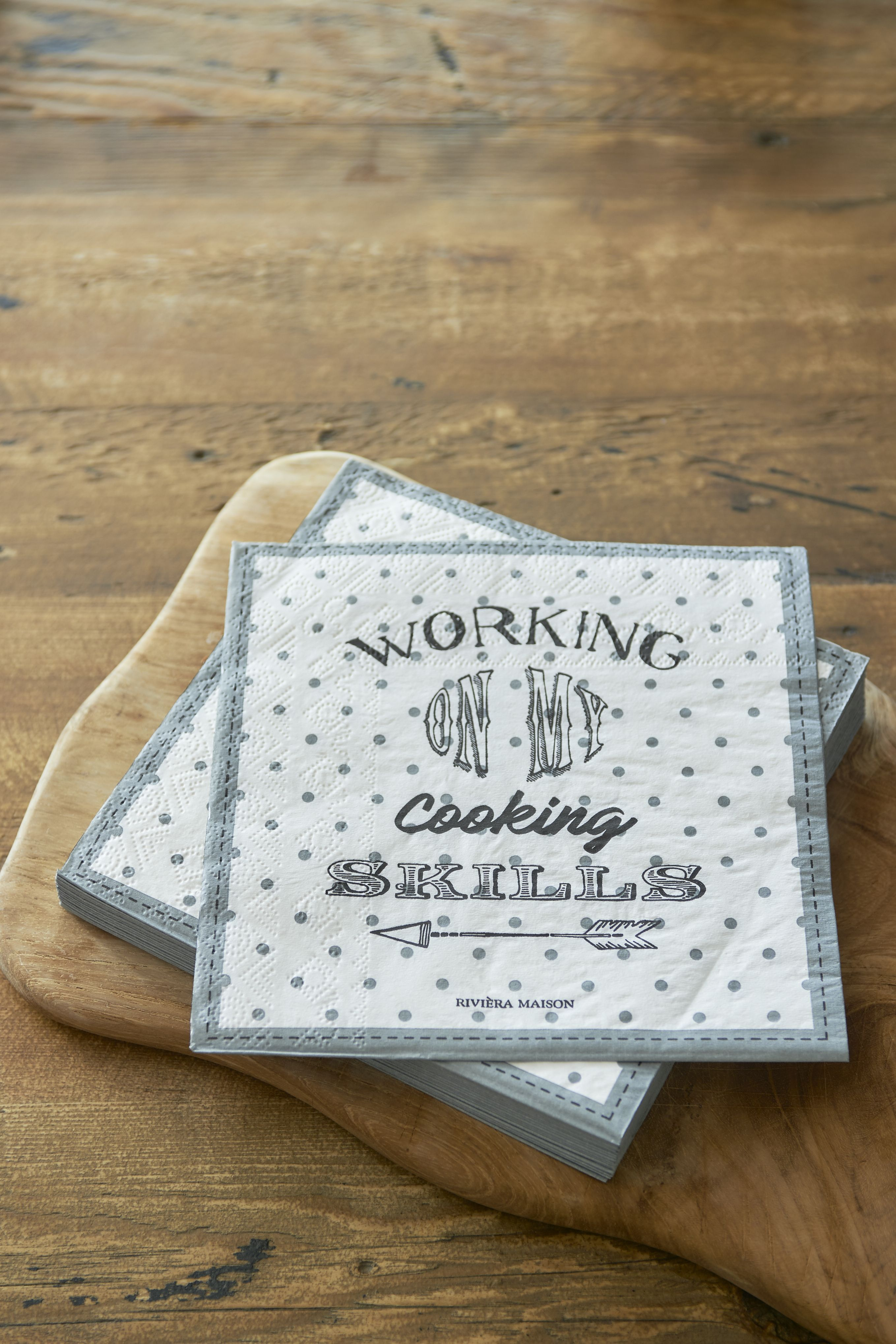 Papírové ubrousky Working Cooking Skills