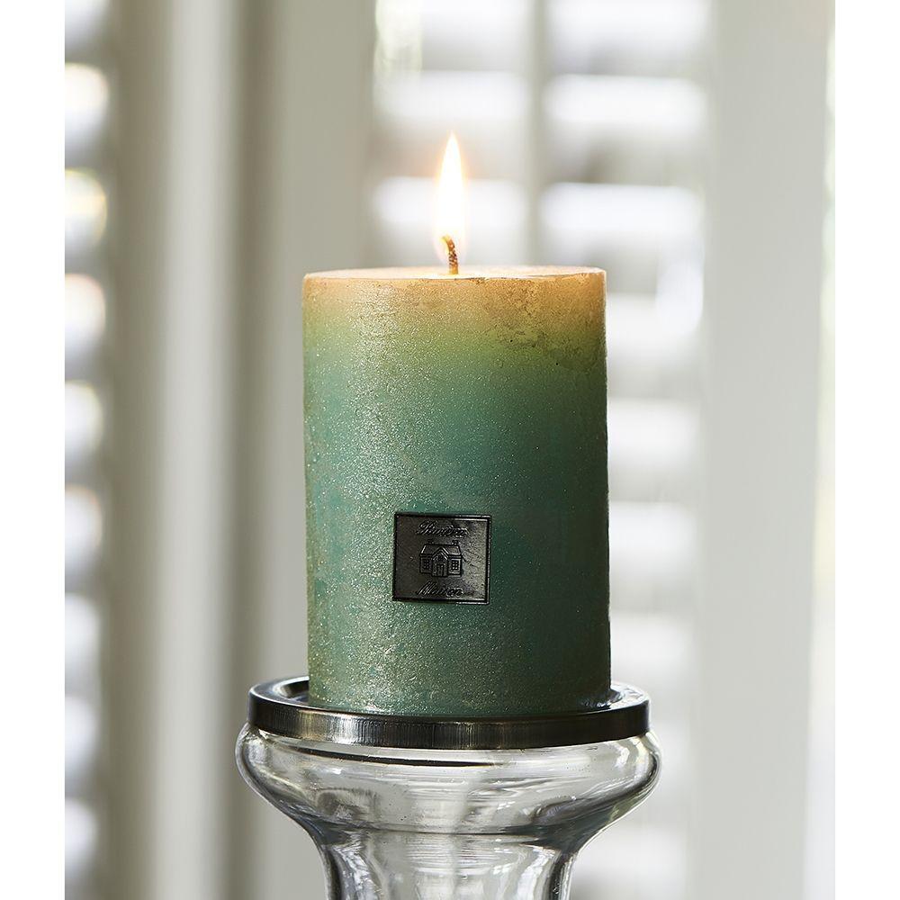 Sviečka Rustic Candle pearl mint 7x10