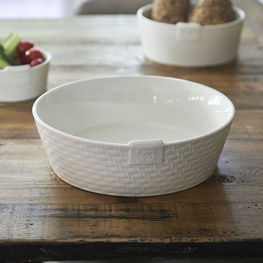 Misa Pure Rattan Ceramic Bowl L