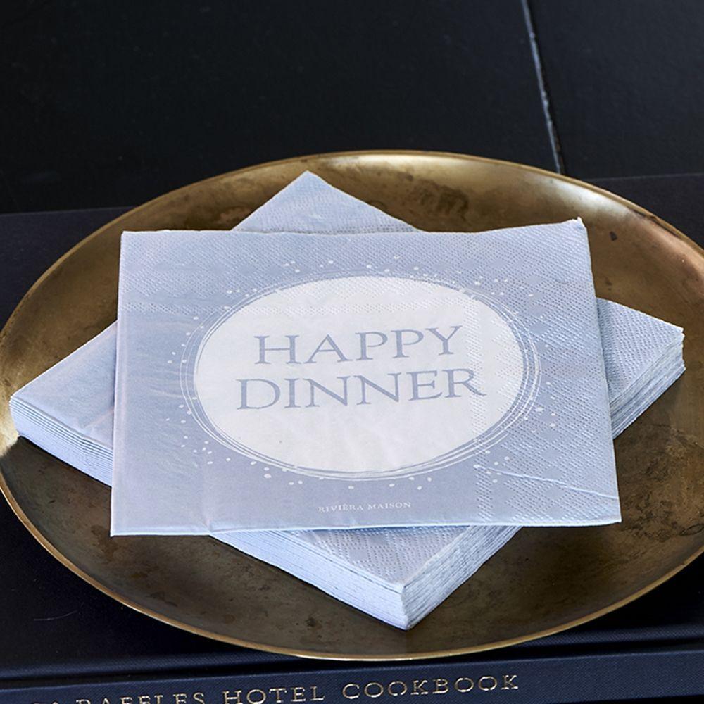 Servítky Paper Napkin Happy Dinner