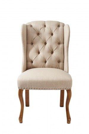Jedálenská stolička Keith II, Flax, Linen