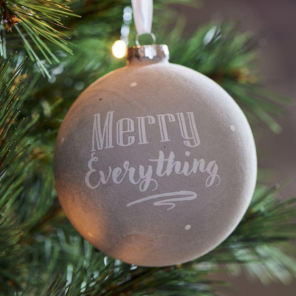 Vianočná ozdoba  Merry Everything Christmas Ornament