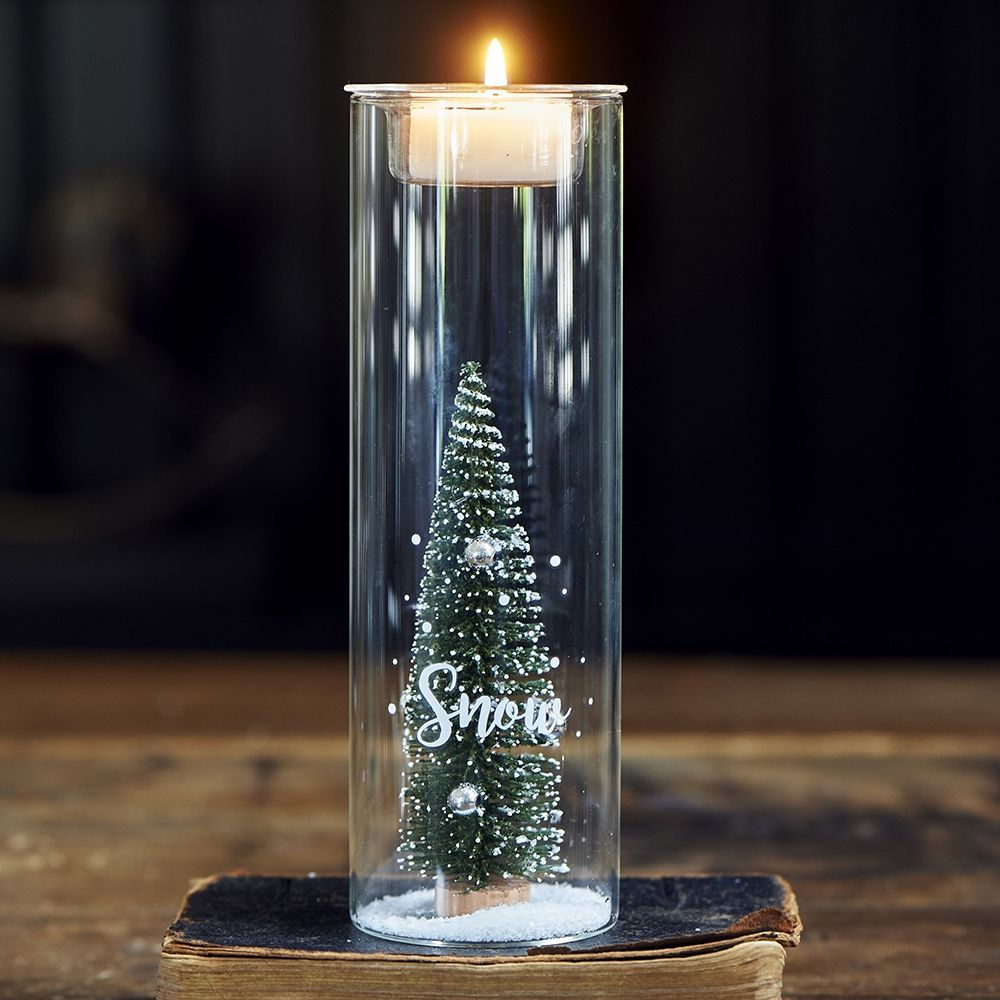 Svietnik Let It Snow Fillable Votive M