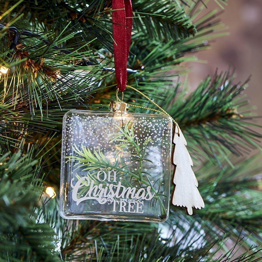 Vianočná ozdoba Oh Christmas Tree Ornament