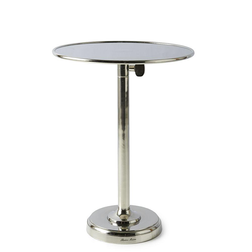 Venice Adjustable Sofa Table L ∅ 40 cm