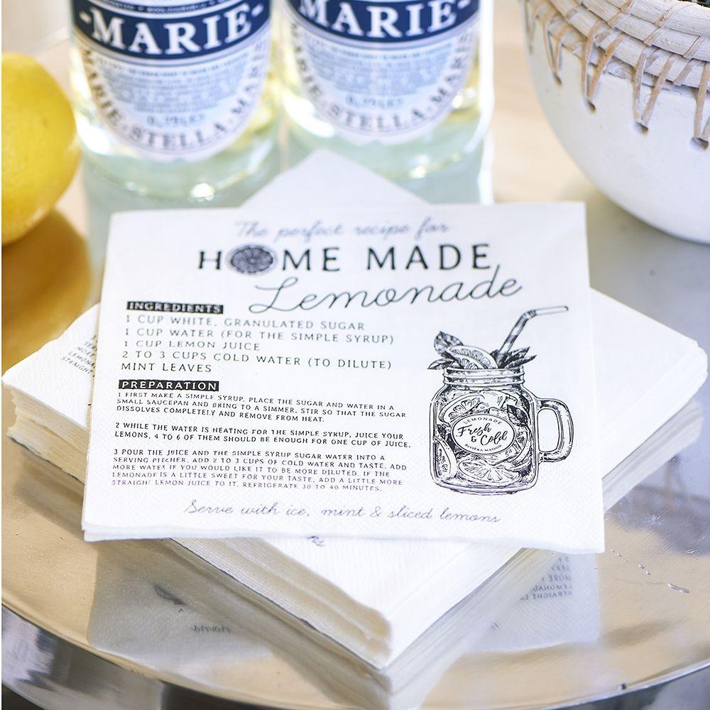 Servítka  Home Made Lemonade