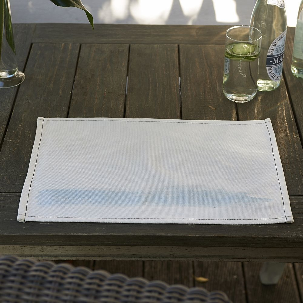 Prestieranie Water Colour Placemat slate grey
