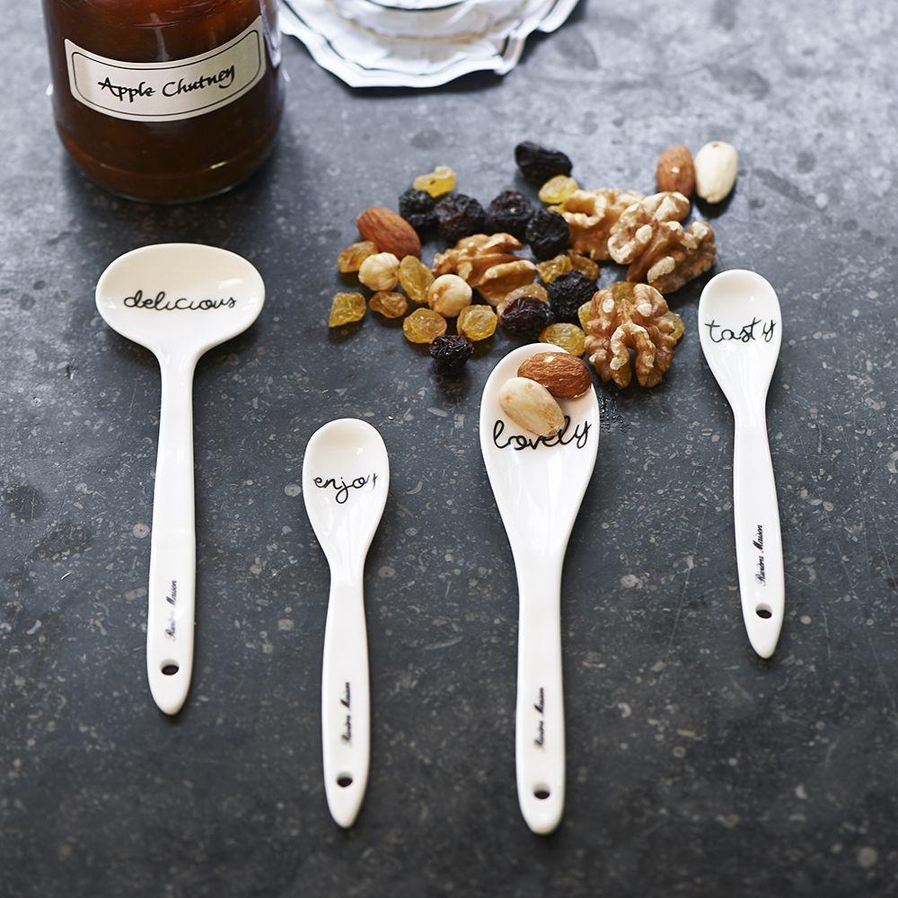 Lyžičky Tasty Tapas Spoons 4 ks