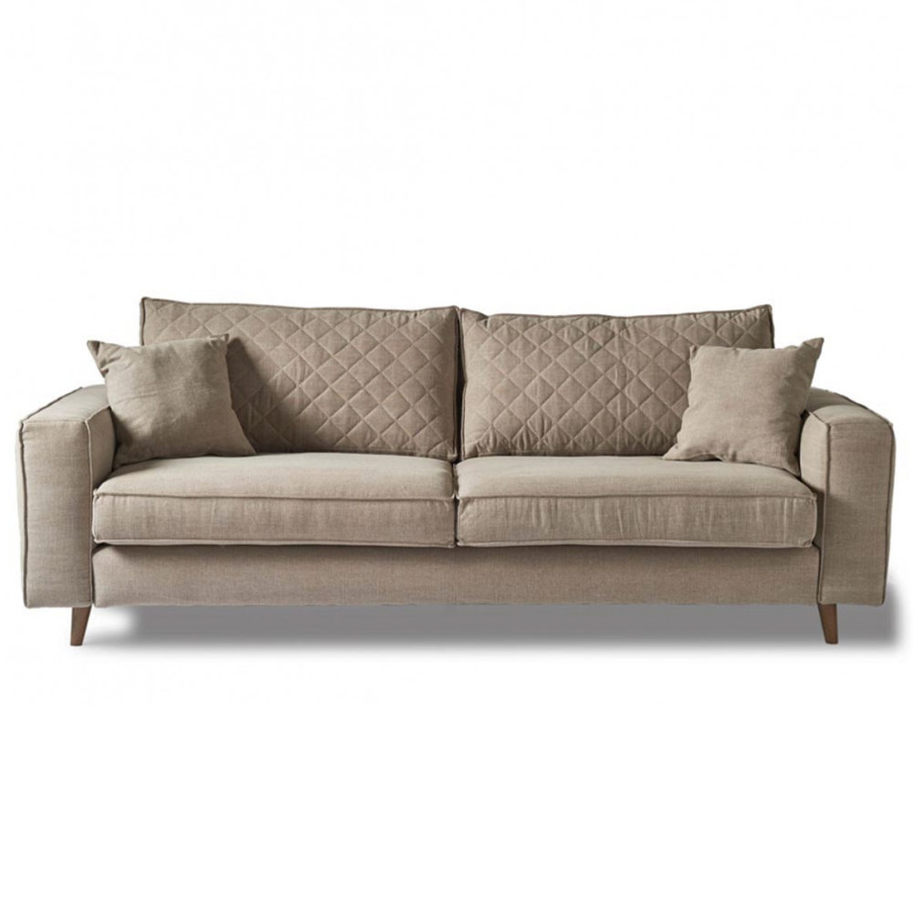 Sedačka Kendall Sofa 3.5s, Washed Cotton, Naturel