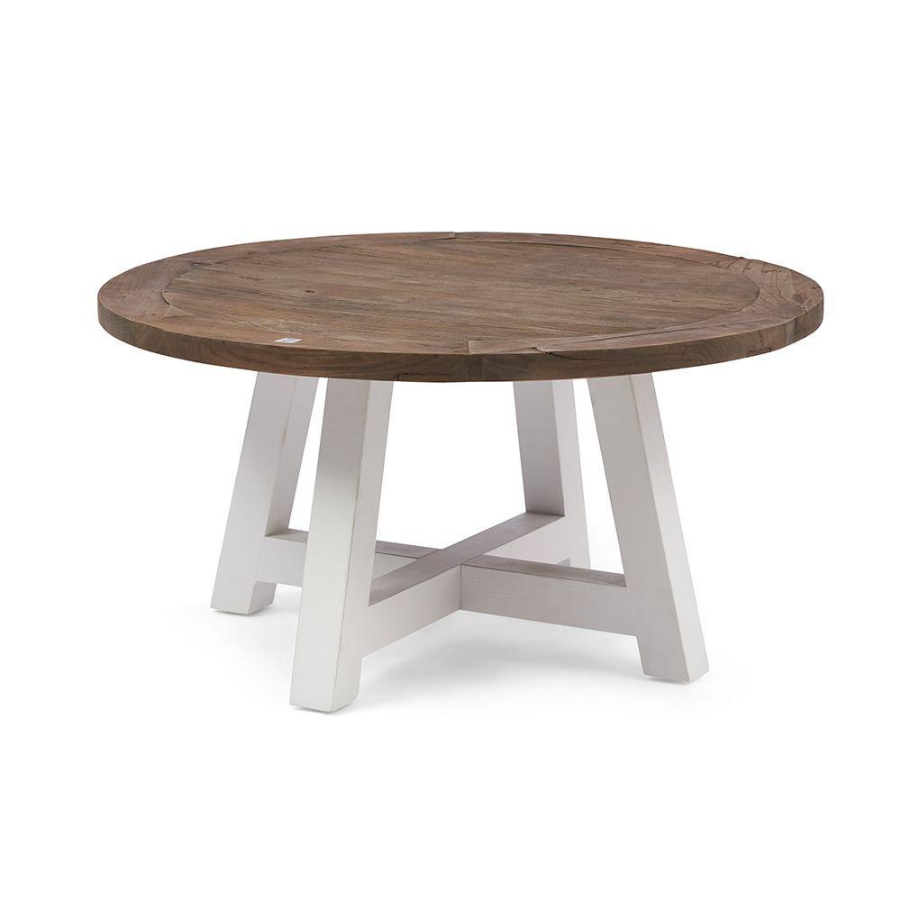 Canyamel Coffee Table White Base ∅ 90cm