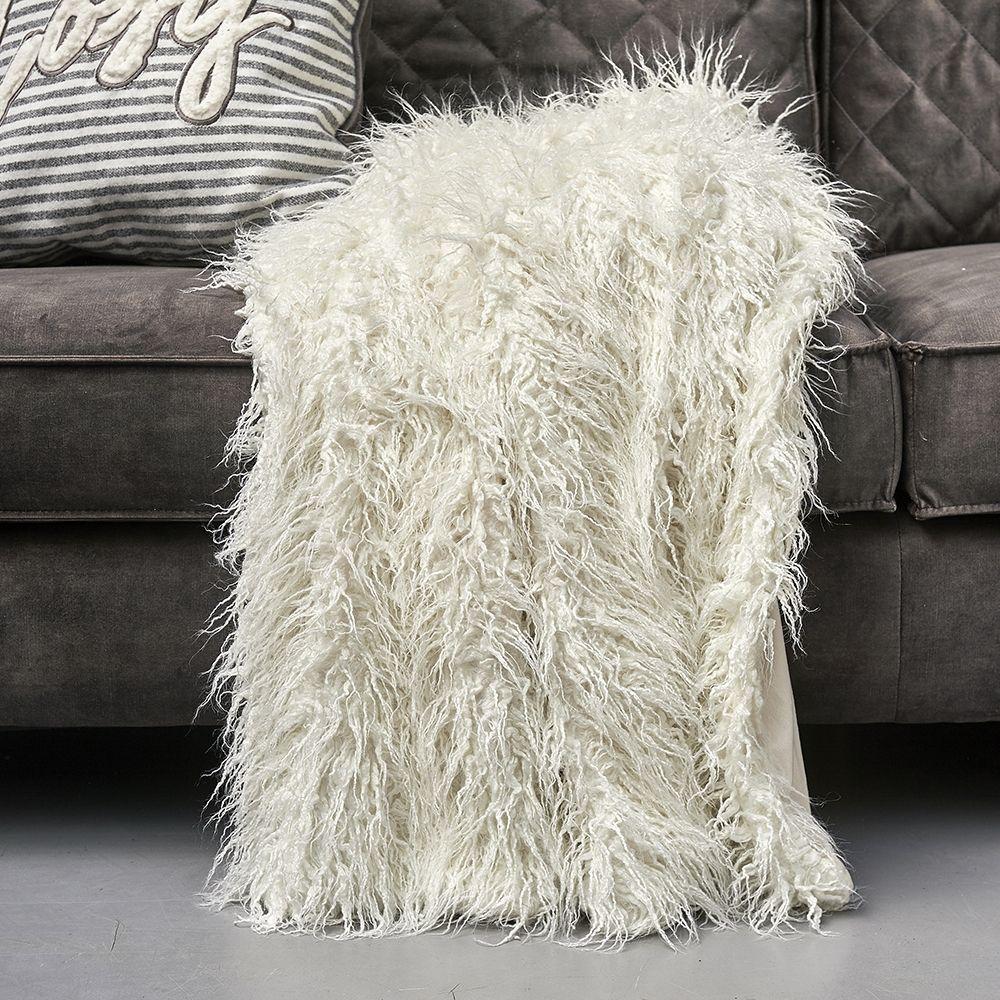 Deka z umelej kožušiny Siberian Faux Fur Throw wh170x130