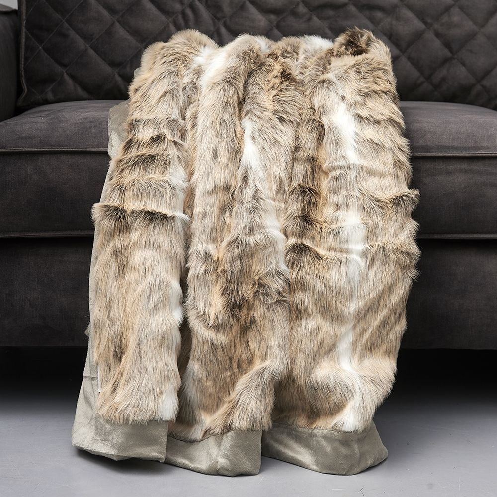 Deka Aspen Faux Fur Throw 170x130