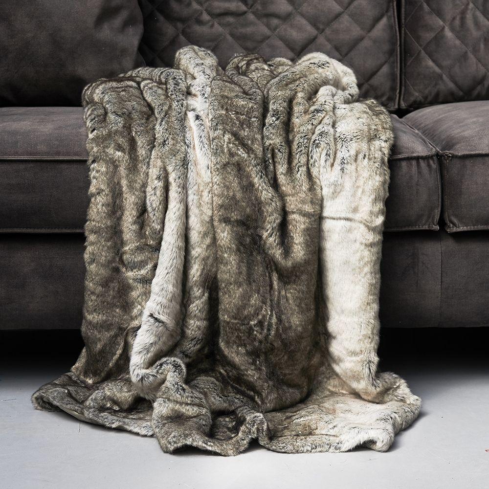 Deka Magic Mink Faux Fur Throw 170x130