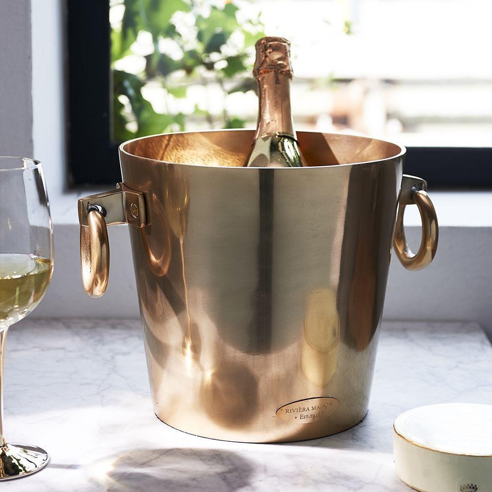 Chladič na šampanské Royalton Champagne Cooler soft gold