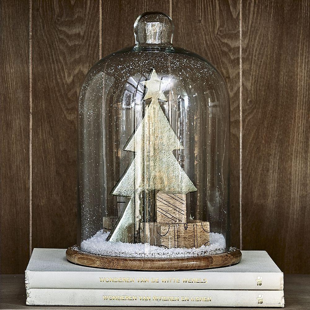 Dekorácia Classic Christmas Tree With Dôme