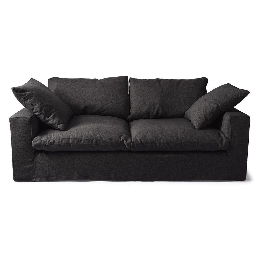 Sedačka Residenza Sofa 3.5s, Ofxord Weave, Black