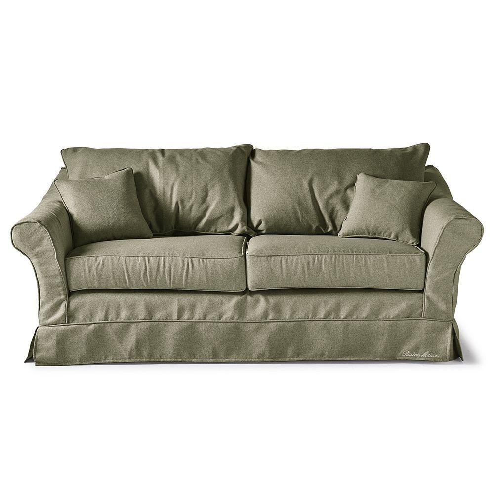 Sedačka Bond Street Sofa 2.5s, Oxford Weave, Green