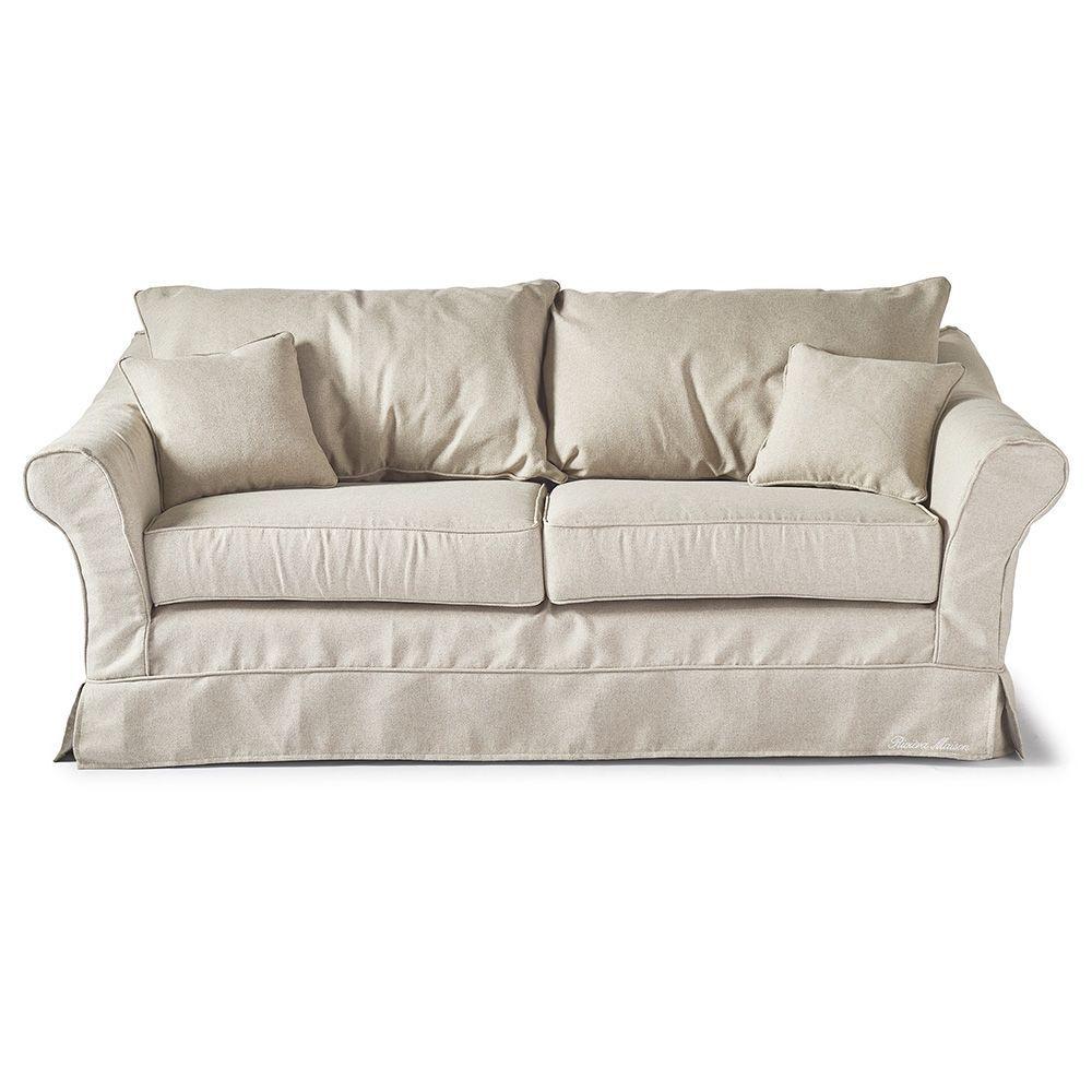 Bond Street Sofa 2.5s, Oxford Weave, Flax