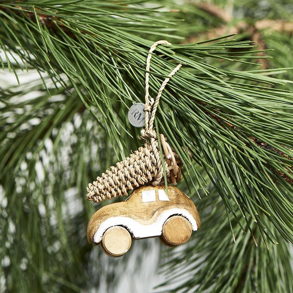 Vianočná ozdoba RR Christmas Car Ornament
