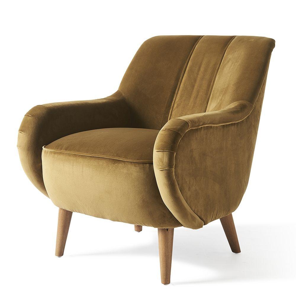 Kreslo Harper Armchair, Velvet,Windsor Green