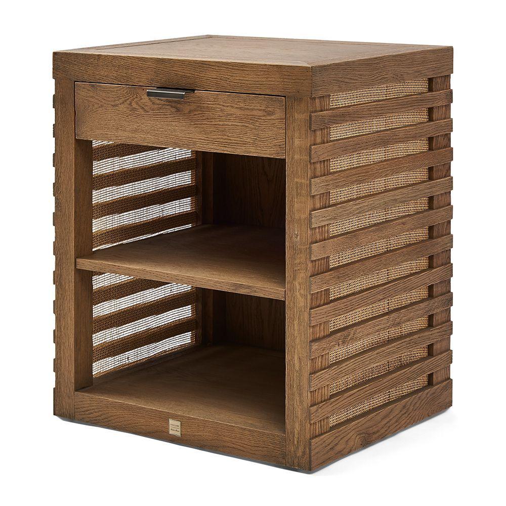 Divers Cove Bed Cabinet Oak