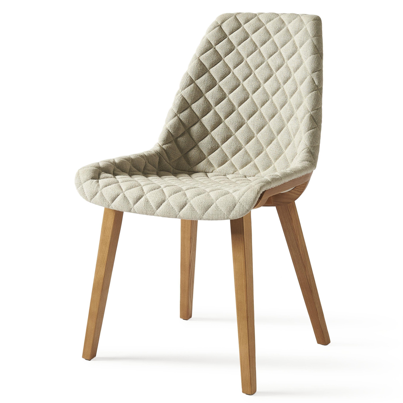Jedálenská stolička Amsterdam City, Linen, Flax