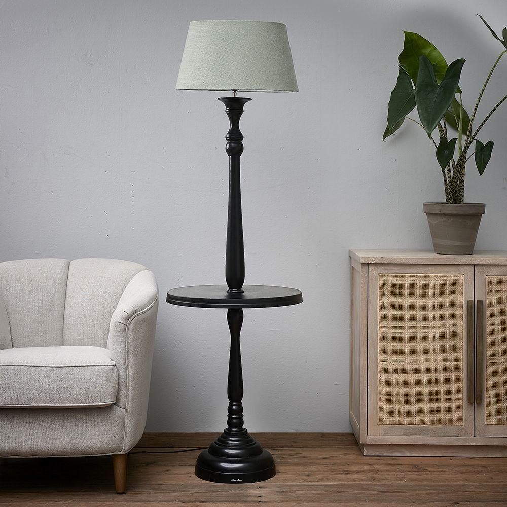 Stojacia lampa Clareridge Floor Lamp black