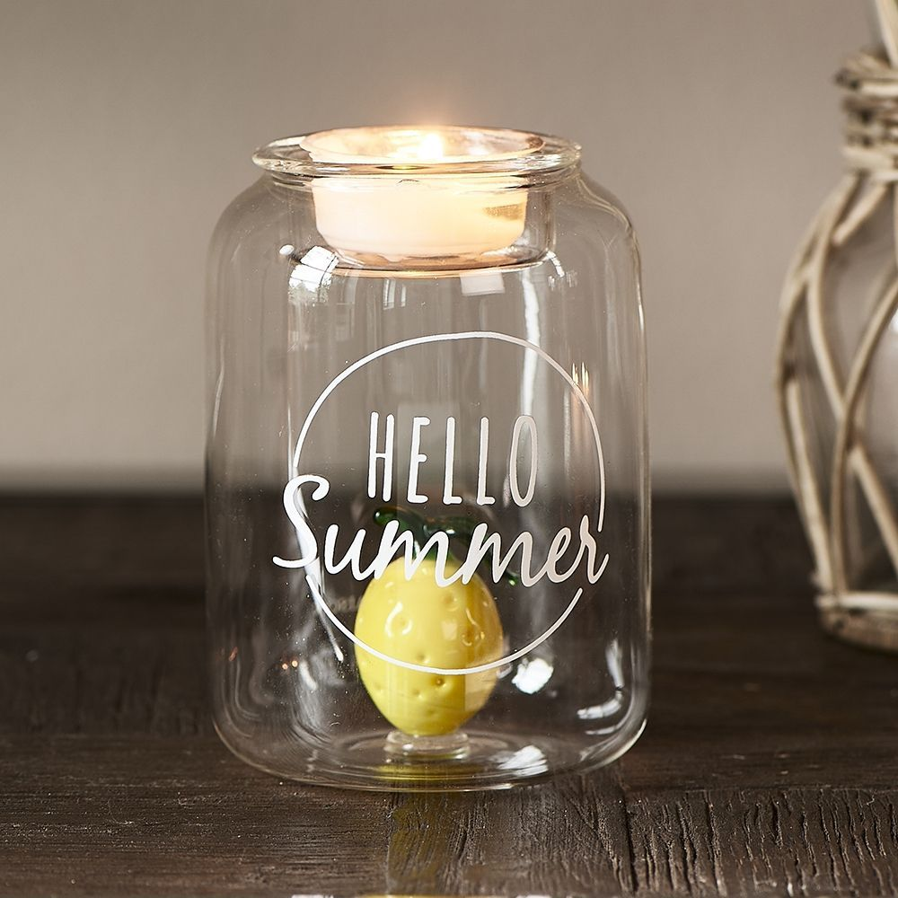 Svietnik Hello Summer Fillable Votive