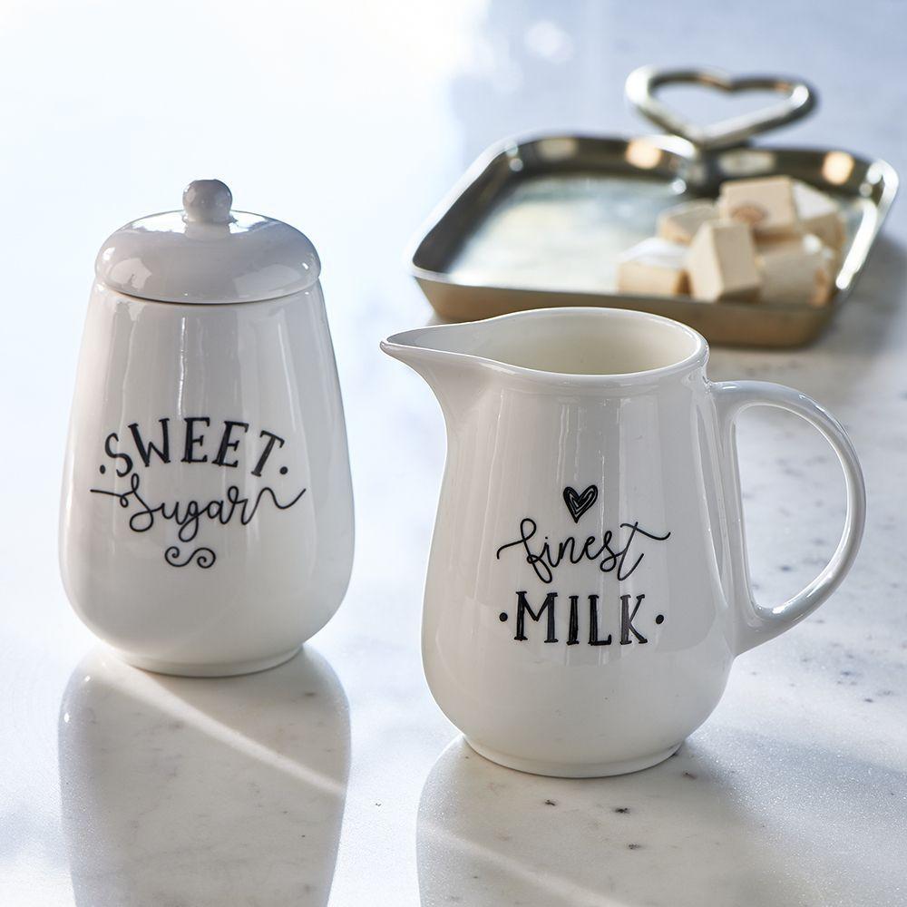 Sada nádob mlieka a cukru Finest Milk & Sugar Set