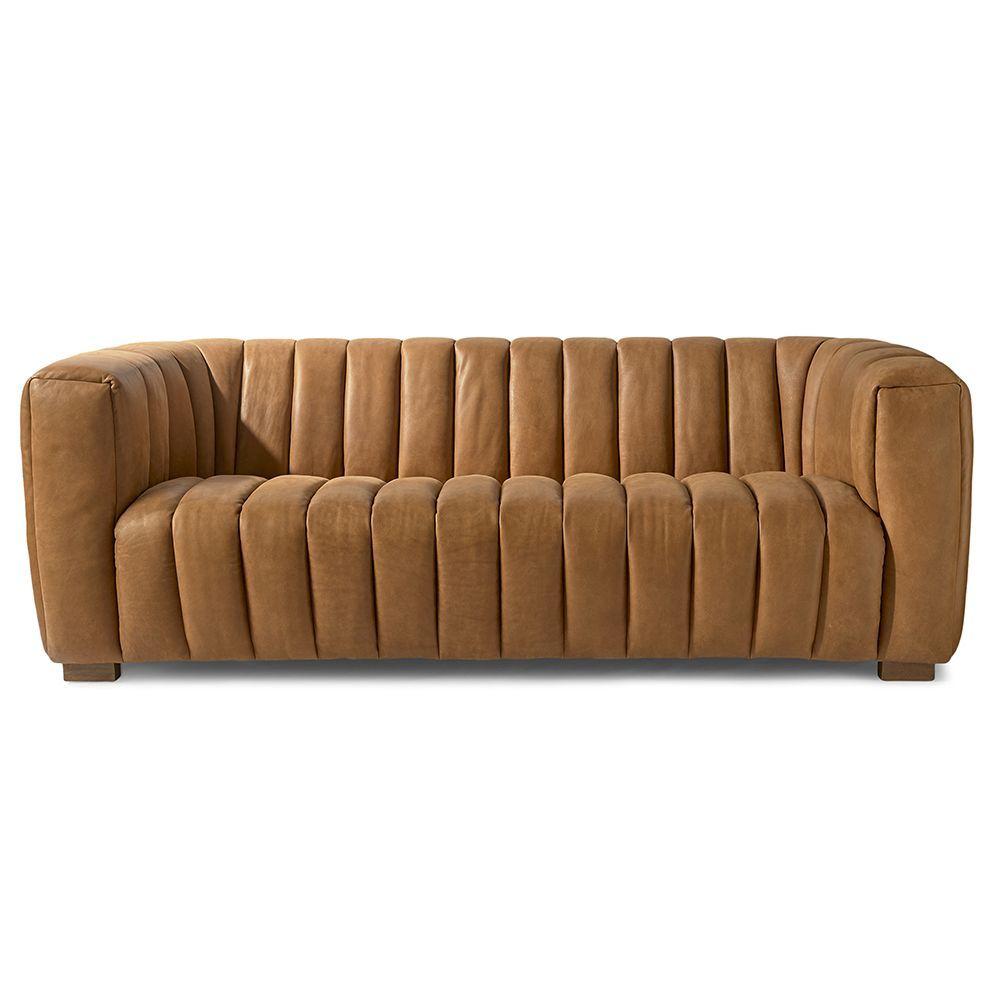 Sedačka Pulitzer Sofa 3.5s, Leather, Cognac