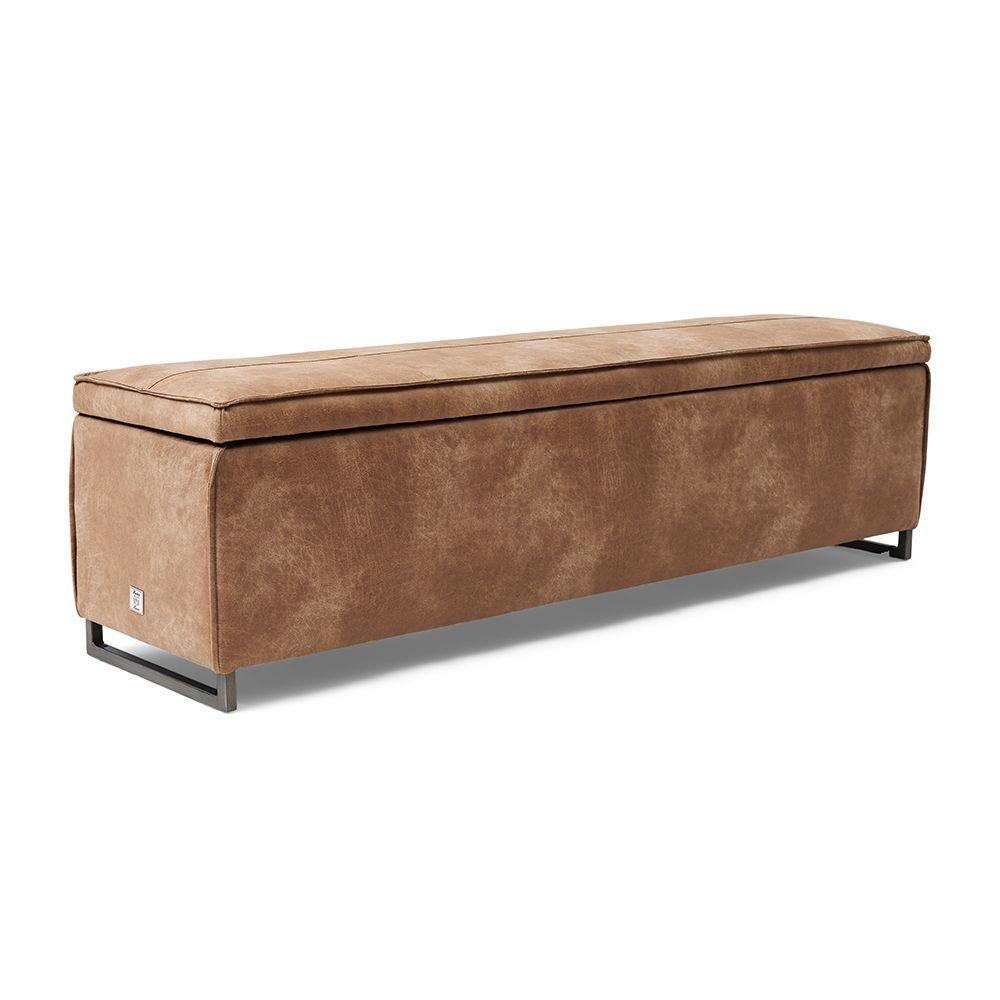 Club 48 Bench w/lid, Pellini, Camel 160 cm