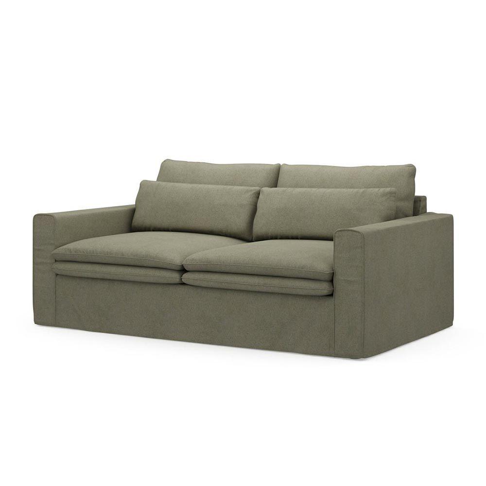 Continental Sofa 2,5s, Oxford Weave, FrGreen