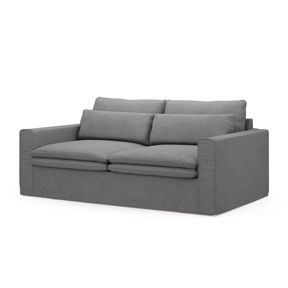 Continental Sofa 2,5s, Oxford Weave, StGrey