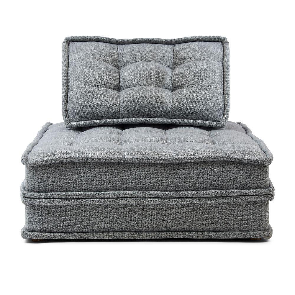 The UpTown Sofa, Graphite, Graphite